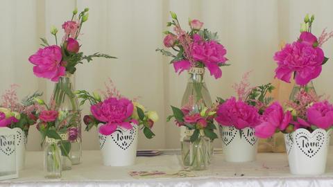 Pink Wedding Floristics GIF