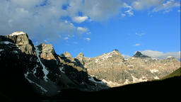 Moraine Lake and the Valley of the Ten Peaks Footage
