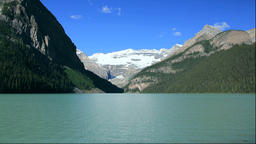 Lake Louise and Victoria Glacier Footage