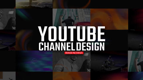 YouTube Channel Design Premiere Pro Template