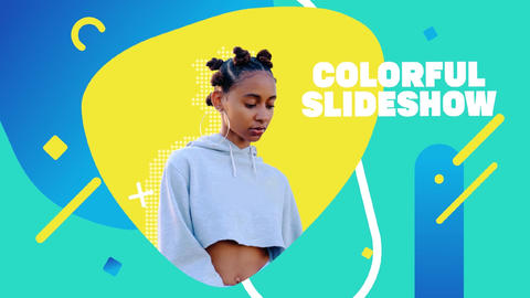 Smooth Colorful Slideshow After Effects Template