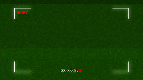 Green Filter Camera View Animation