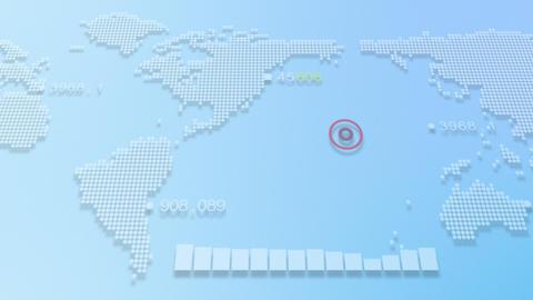 Digital Map Animation