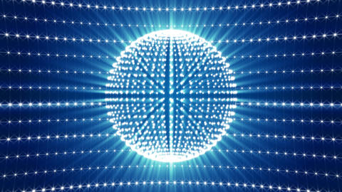 Shimmering Disco Ball Animation