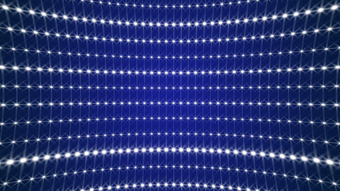 Shimmering Disco Wall - Blue Animation