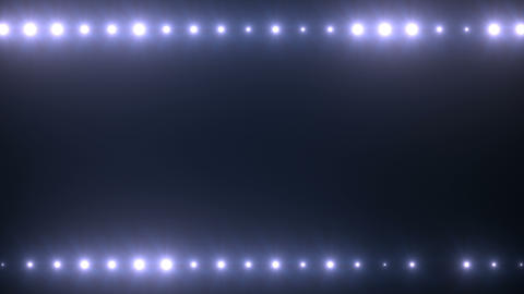 Top-Bottom Stage Lights Flashing 01 Animation