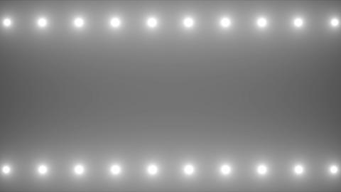 Flashing Spotlights Animation