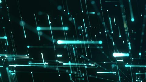 Grid Light Streaks 11 Videos animados