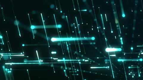 Grid Light Streaks 12 Videos animados