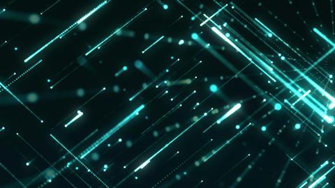 Grid Light Streaks 15 Videos animados