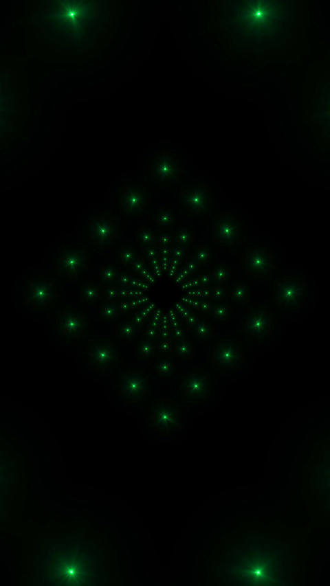 VJ Green Animation