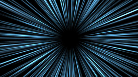 ズームやワープの効果線のエフェクト4K動画 CG動画