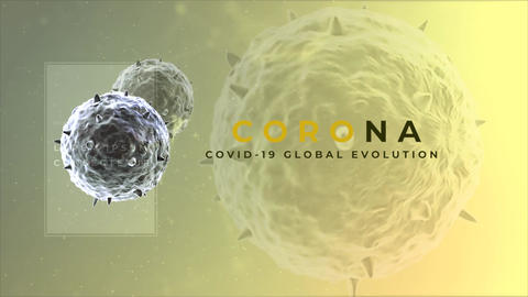 Corona Virus Titles Premiere Pro Template