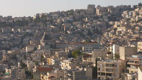 The basilica of annunciation, Nazareth Footage