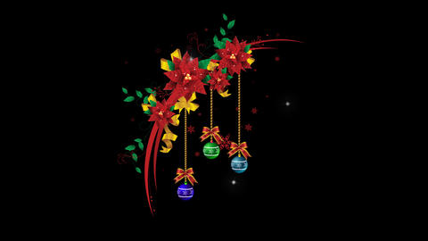 Christmas Wreath 03 Animation