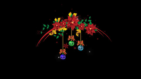 Christmas Wreath 02 Animation