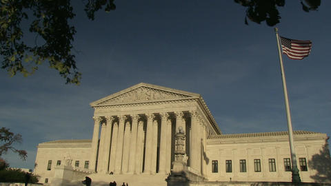 The United States Supreme Court in Washington, DC Footage