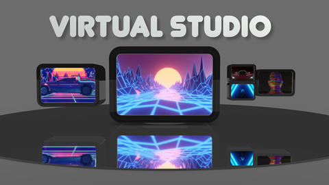 Virtual Studio For FCPX Apple Motion Template