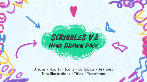 Scribbles. Hand Drawn Pack (DR) 0