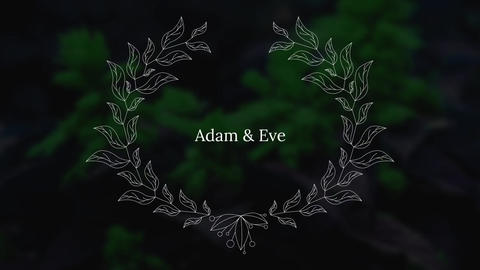 MOGRT - Wedding Titles Motion Graphics Template