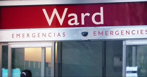 Hospital ward entrance Live Action