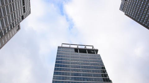 Breitner Tower And Mondrian Tower And Rembrandt Tower At Amsterdam The Netherlands 2019 Live Action