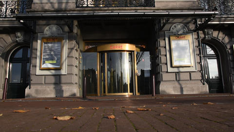Entrance Carre Theater At Amsterdam The Netherlands 2019 Live Action