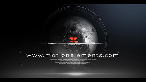Space Logo Animation Premiere Pro Template