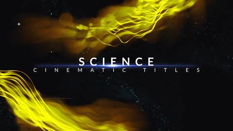 Cinematic Titles Plantilla de After Effects