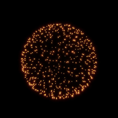 Fireworks Botan 05 ProRes Videos animados