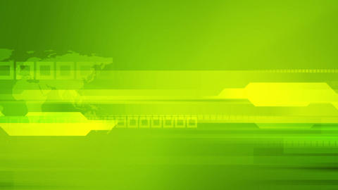 Bright green tech abstract animated background Animation