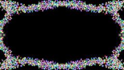 Confetti animated frame Footage