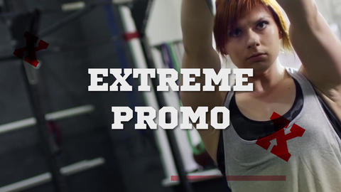 Extreme Sport Promo After Effects Template