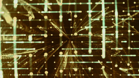 Grid Light Streaks 05 Videos animados