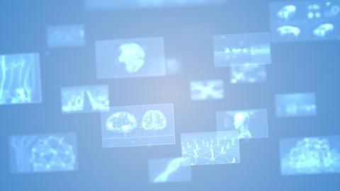 Digital Network Technology AI 5G data communication concepts background E Move B Gray DOF Videos animados