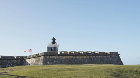 Puerto Rico tourist destination attraction Fort San Juan Fort Morro Castle Live Action
