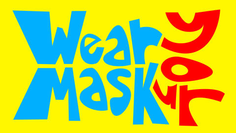 Wear your mask CG動画