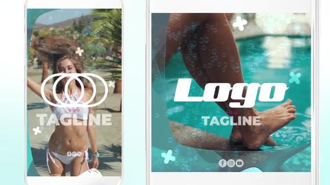 Summer Insta Opener Premiere Pro Template