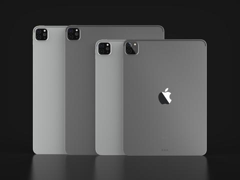 Apple IPad Pro 2020 11 and 12.5 inch 3D Model