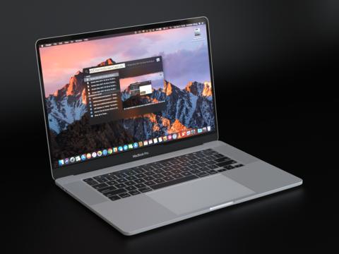 Apple Macbook Pro 2019 16 Inch 3D Model