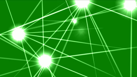 Laser lights motion graphics with green screen background Videos animados