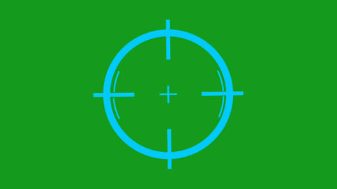 Rotating wheel motion graphics with green screen background Animation