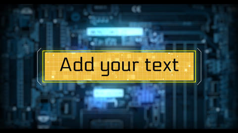 Digital Lower Thirds After Effects Template