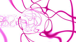 Dynamic pink strokes tunnel Animation