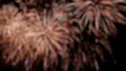 Fireworks display, blurry background 5 Footage