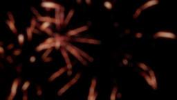 Fireworks display, blurry background 8 Footage