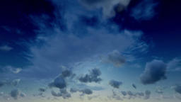 Heavenly Afternoon Time Lapse Clouds Animation