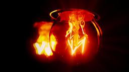 Light bulb flickering, blurry reflection, flashing jitter Stock Video Footage