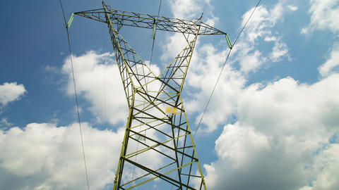 High Voltage Electric Pylon Live Action
