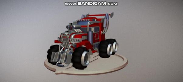 Spors Truck 3D Model